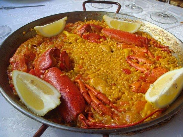 Arroz con bogavante - Salsa para bogavante cocido ...