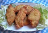 Filetes de pollo con bechamel