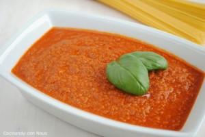 Receta de Salsa boloñesa