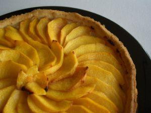 Como elaborar una tarta de manzana