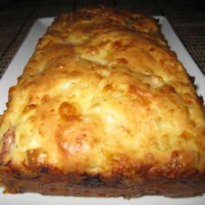 tosta de pan con gambas y setas