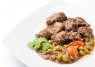 estofado de carne de ternera y verduras