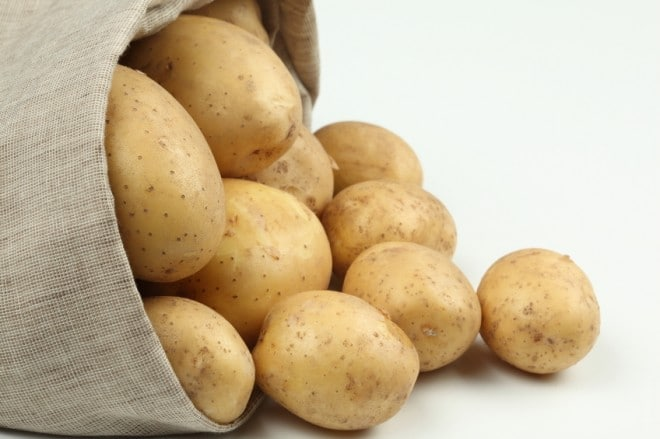 Pelar patatas cocidas muy facil
