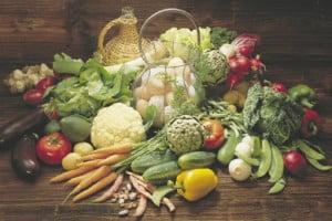 Cuadraditos de verdura frita