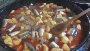 Recetas con anguilas o angulas