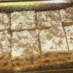 Brownies de coco y chocolate