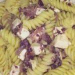 Coliflor morada con queso