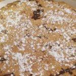 Tarta de almendra, harina de maíz y Nutella