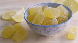 Jaleas de limón