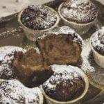Muffins de nutella y arroz inflado