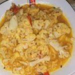Pasta y coliflor a la napolitana