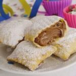 Raviolis dulces de Nutella