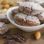 Ricciarelli de Siena con chocolate