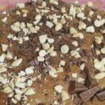 Pastel 7 tarros de cacao y almendras