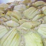 Pastel de manzana con harina integral