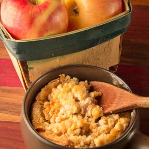 como hacer Manzana crujiente