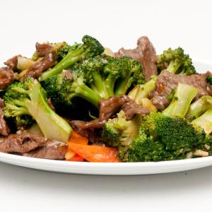 como hacer Brócoli Carne de res