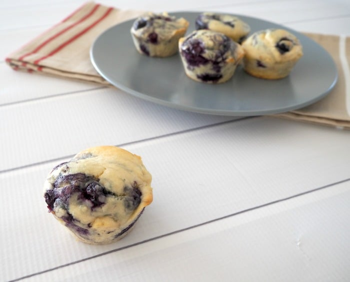 Receta Thermomix Blueberry Muffin