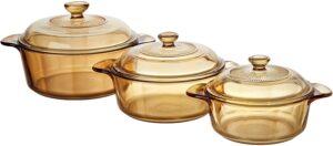 Opiniones de ollas de cristal para microondas para comprar Online