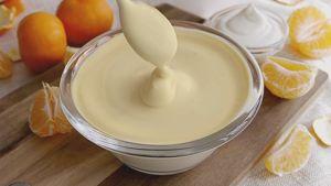 Como hacer Crema de mandarina