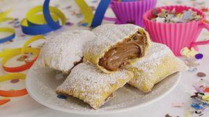Como hacer Raviolis dulces de Nutella