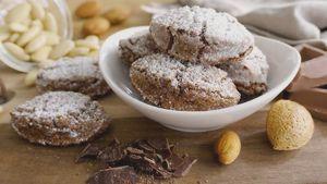 Como hacer Ricciarelli de Siena con chocolate