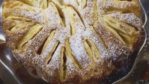 Como hacer Pastel de manzana ligero